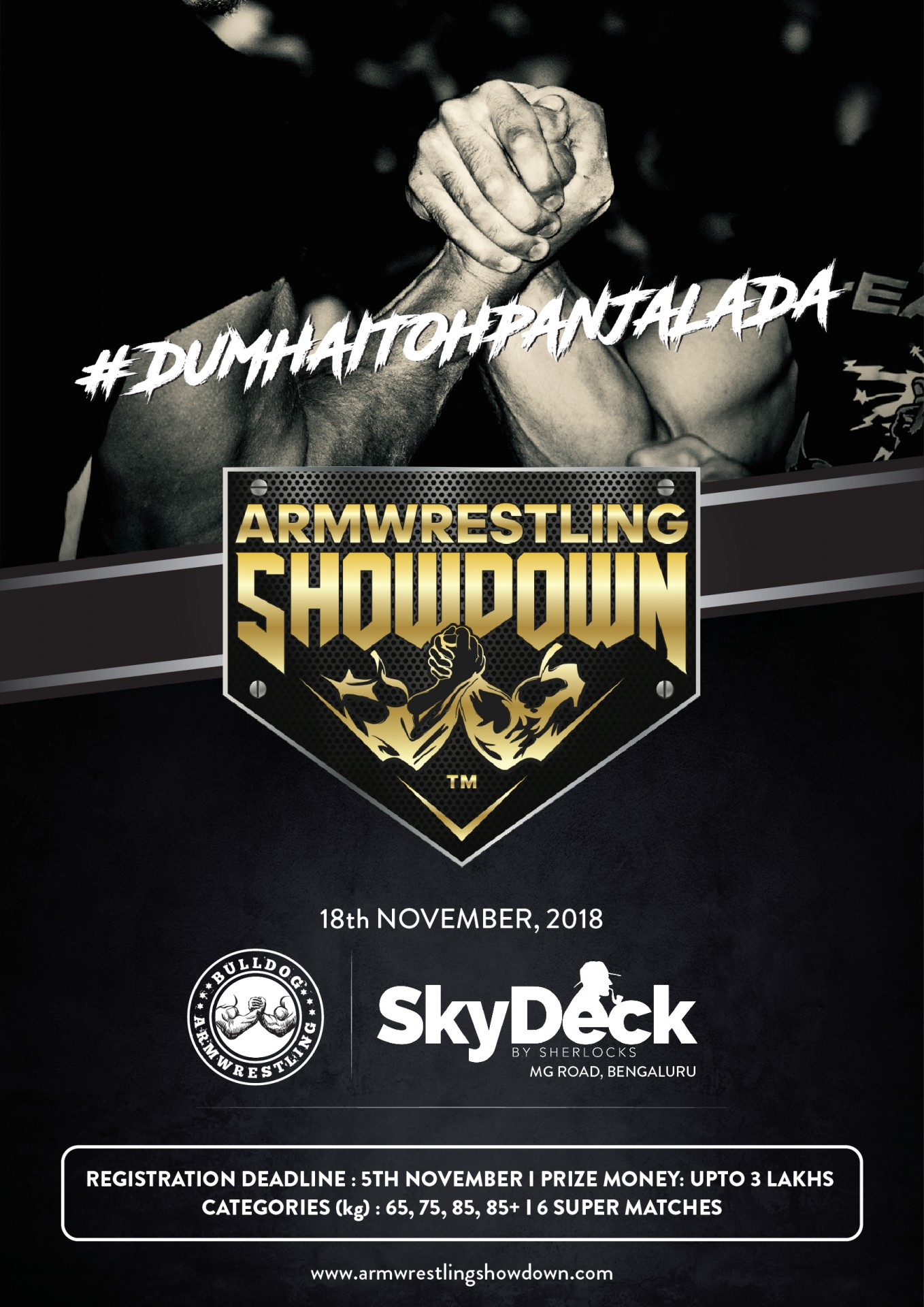 Bulldog Armwrestling Presents AWS – ARMWRESTLING SHOWDOWN