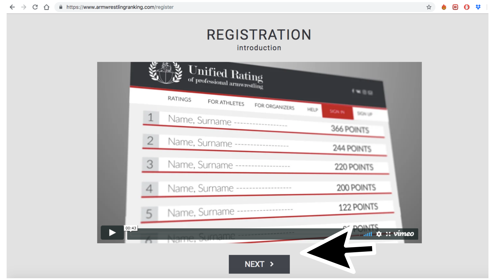 A Step-by-Step Guide to Your URPA Registration